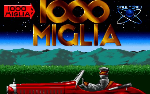 1000 Miglia splash screen