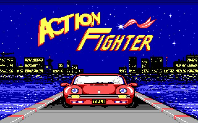 Action Fighter splash screen