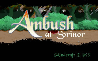 Ambush at Sorinor splash screen