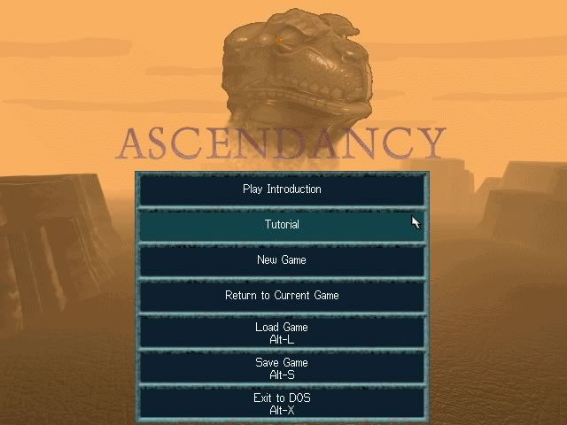 Ascendancy splash screen