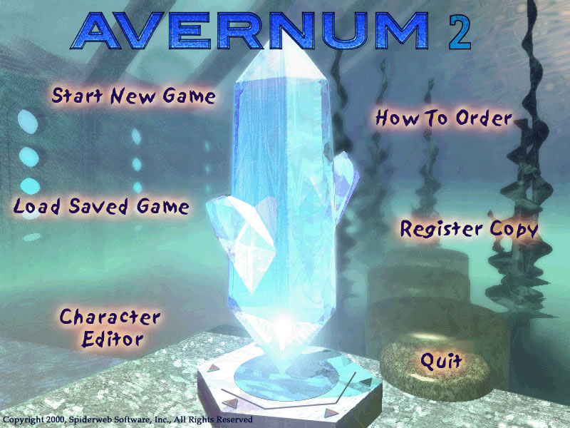 Avernum 2 splash screen
