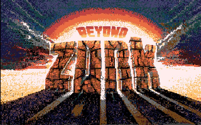 Beyond Zork splash screen