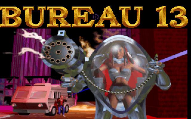 Download bureau 13 adventure for dos 1995 abandonware dos for Bureau 13 gametek