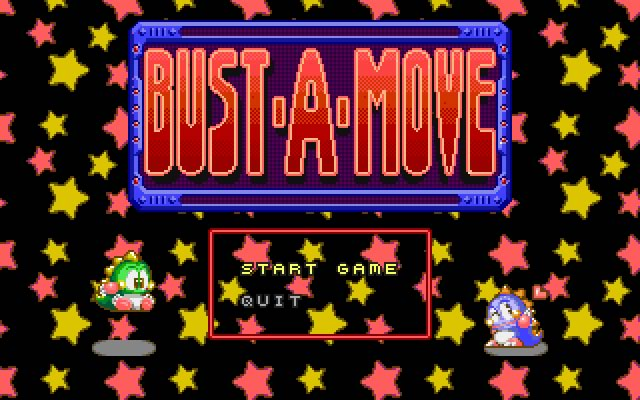 Bust a move (Puzzle bubble) splash screen