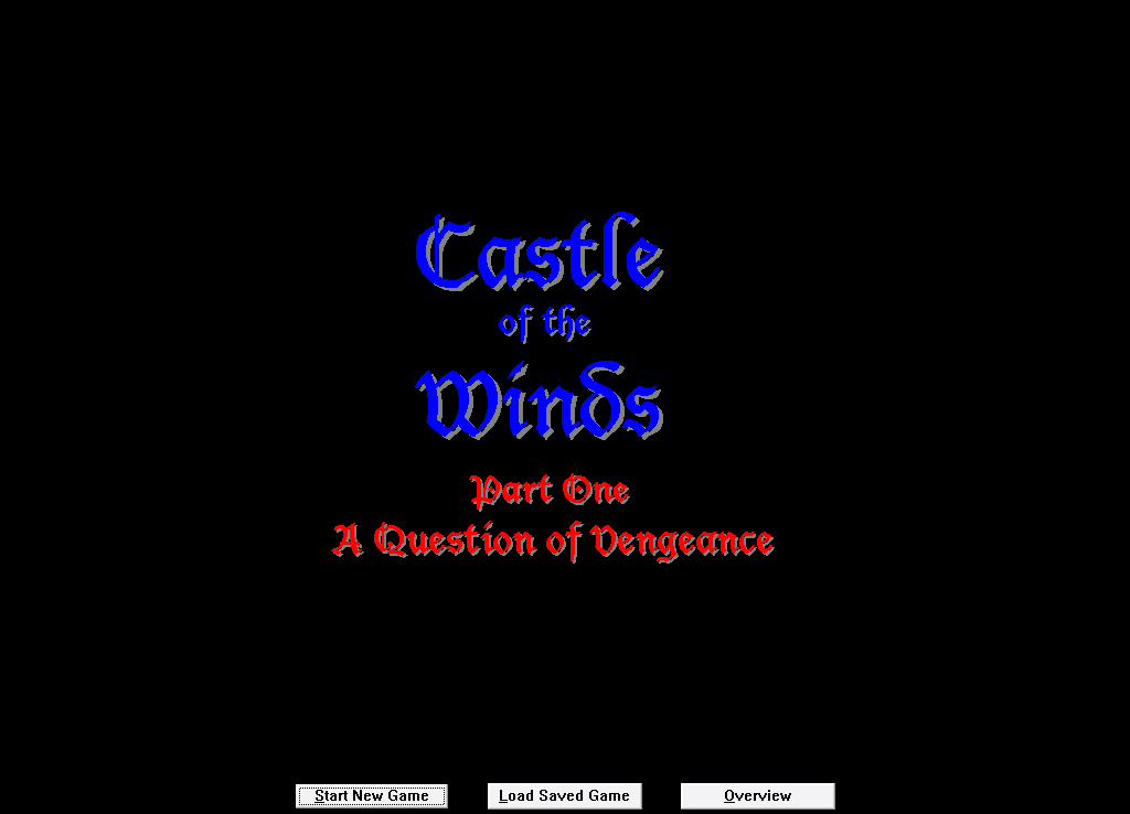 Castle of the Winds splash screen