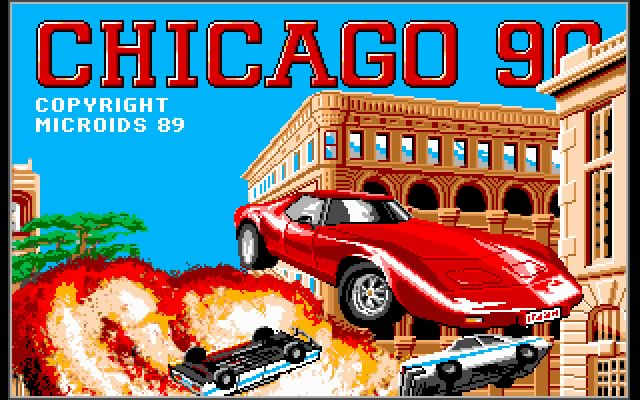 Chicago 90 splash screen