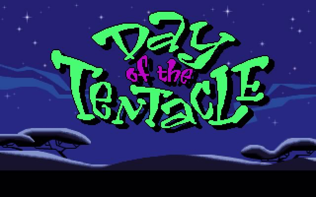 Day of the tentacle splash screen