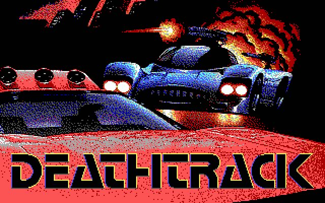 Deathtrack splash screen