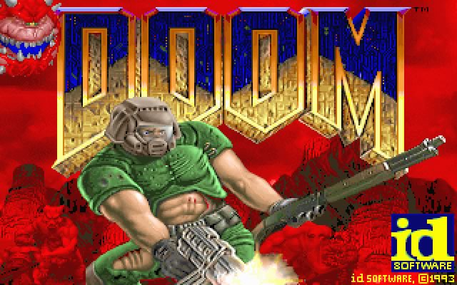 Doom splash screen