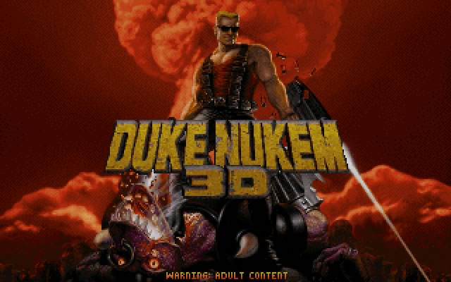 Duke Nukem 3D splash screen