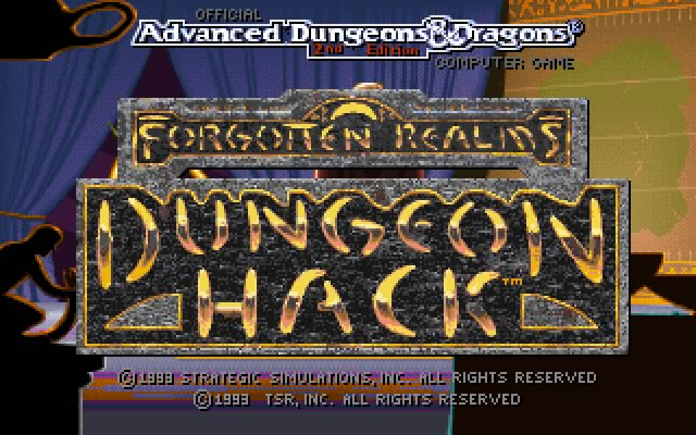 Dungeon Hack splash screen