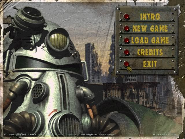 Fallout splash screen