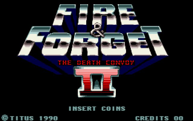 Fire and Forget 2 splash screen