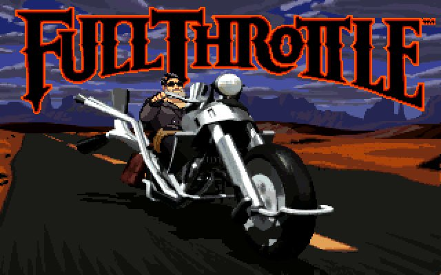 Full Throttle splash screen