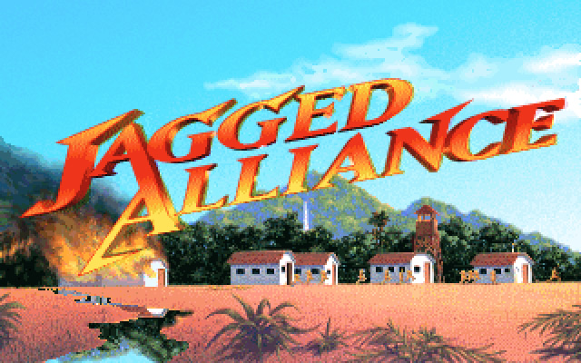 Jagged Alliance splash screen