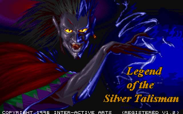 Legend of the Silver Talisman splash screen