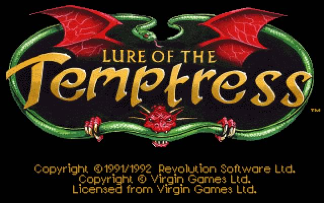 Lure of the temptress splash screen