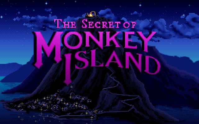 The Secret of Monkey Island splash screen