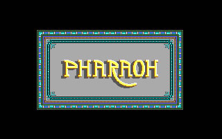 Pharaoh splash screen