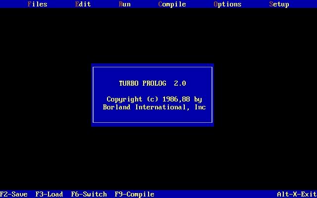 BORLAND TURBO PROLOG 2.0 DOWNLOAD