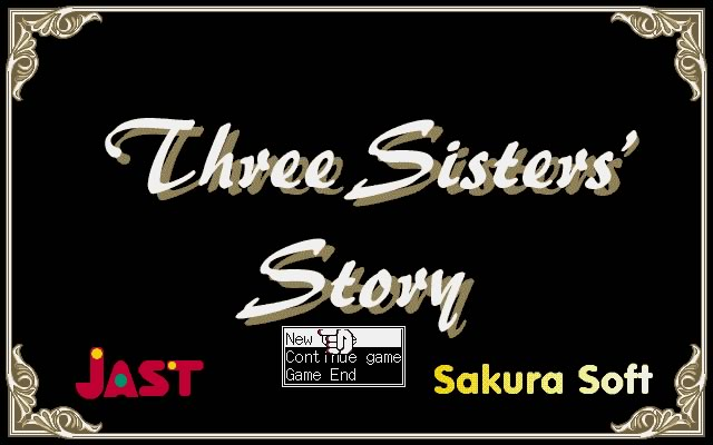 Three Sisters' Story splash screen