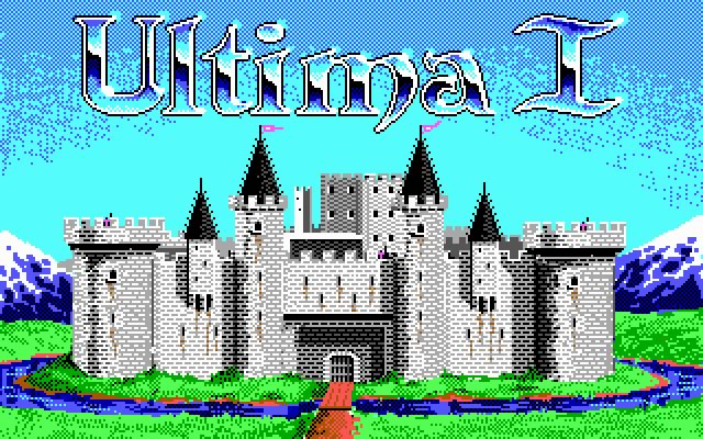 Ultima 1: The First Age of Darkness splash screen