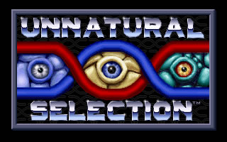 Unnatural Selection splash screen