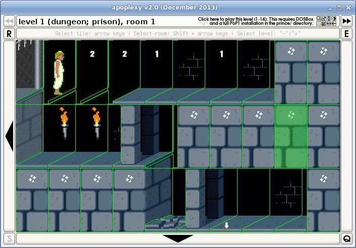 Apoplexy 2 0: Prince of Persia level editor - Abandonware DOS