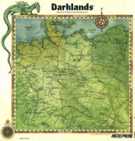 Darklands map of medieval Germany