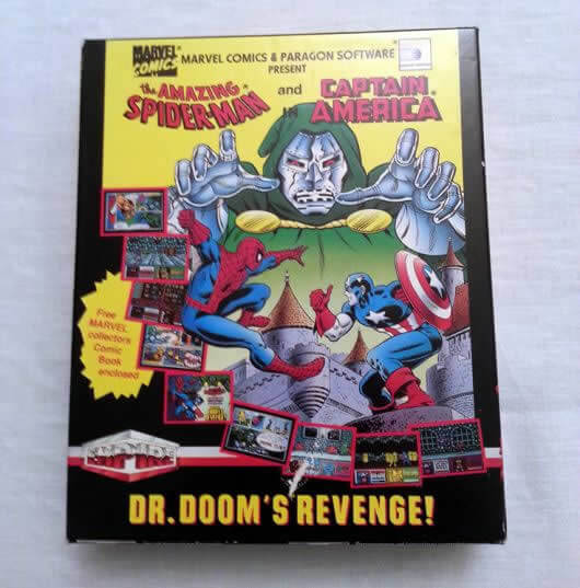 Dr. Dooms Revenge comic book