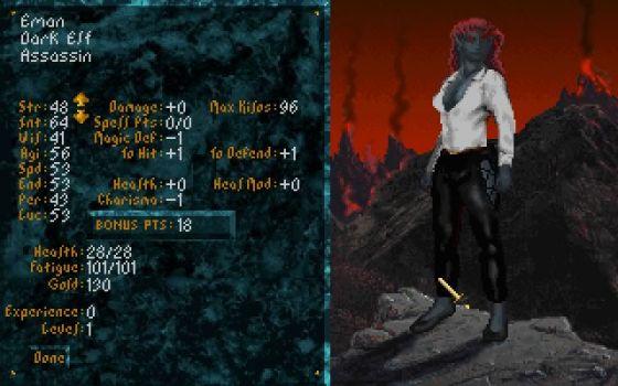 1994 in retro gaming: The Elder Scrolls: Arena