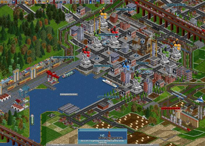 Remakes of the month: OpenTTD and Simutrans - Abandonware DOS