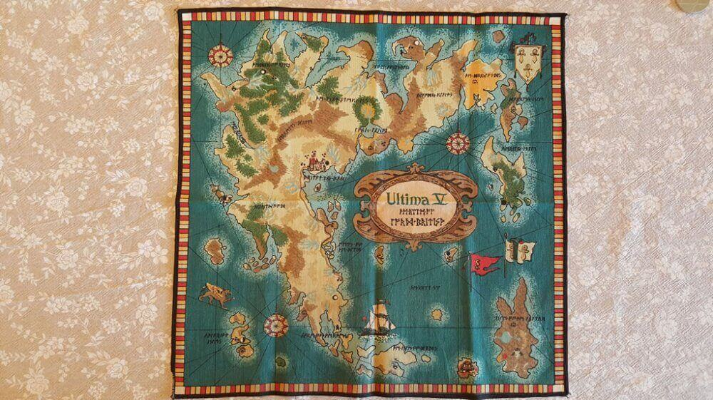 Ultima 5: Warriors of Destiny for Commodore 64 big box and ... on ultima 4 map, ultima v nes map, ultima underworld abyss map, ultima online map, ultima underworld the stygian abyss ps1,